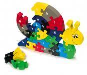 Buchstaben Puzzle-Schnecke