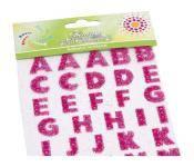 Buchstaben Glitter-Sticker