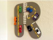 Buchstaben Autobahn