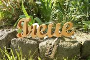 """Holzbuchstaben """"Treue"""""""