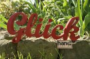 """Holzbuchstaben """"Glück"""""""