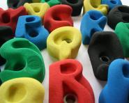 Buchstaben Klettergriffset