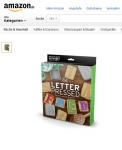 Buchstaben Keks-Ausstechformen LETTER PRESSED 28-teilig
