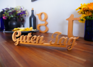 "Holzbuchstaben ""Guten Tag"""
