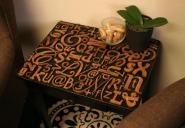 Buchstaben Tisch selber machen