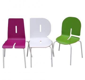 Designer Buchstaben Kinderstuhl