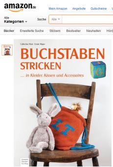 Buchstaben stricken: ... in Kleider, Kissen & Accessoires