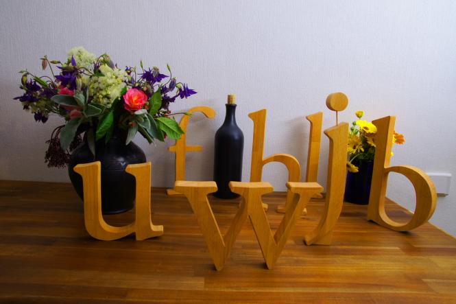 Holzbuchstaben 15,5 cm