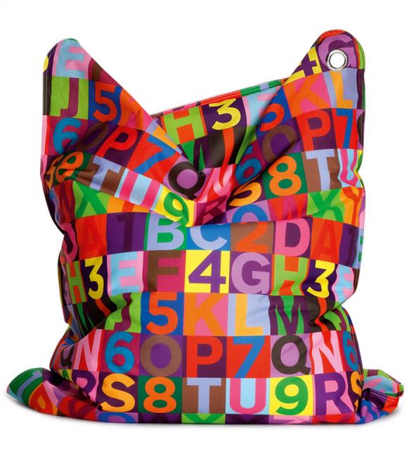ABC Kinder-Sitzsack mit bunten Buchstaben