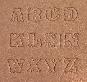 Buchstaben Lederstempel - STANDARD