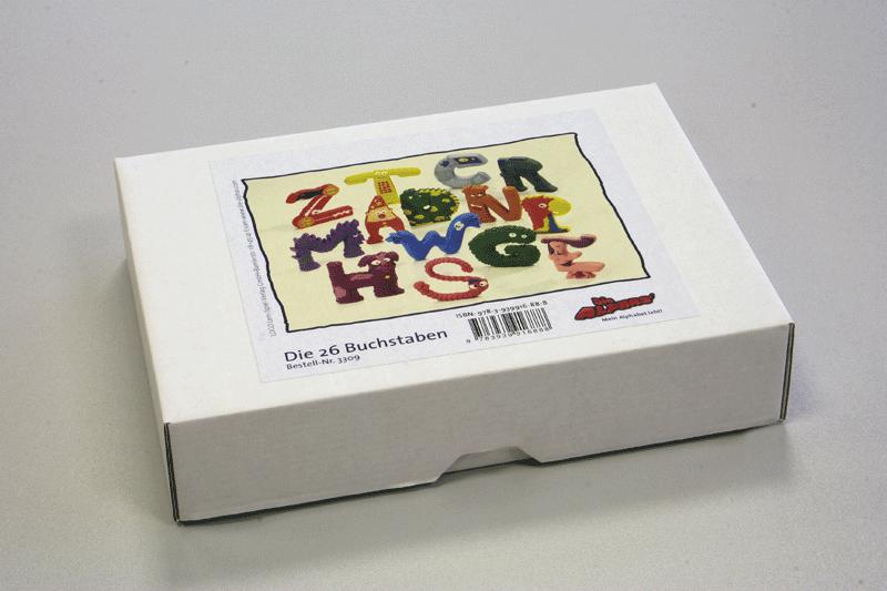 Justletters Die Alphas Buchstaben Box