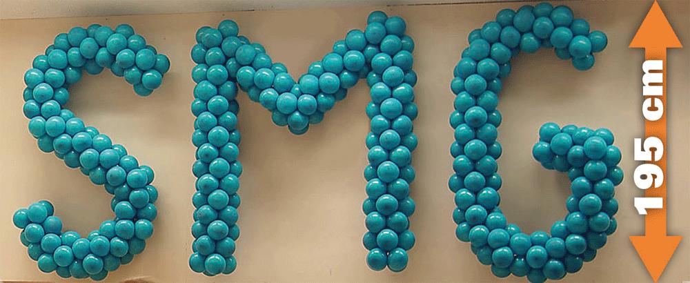 JustLetters | Buchstaben Luftballon-Dekoset Maxi